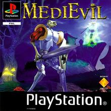 Capa do jogo MediEvil