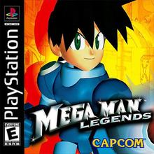 Box art for the game Mega Man Legends