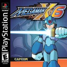 Box art for the game Mega Man X6