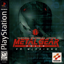 Box art for the game Metal Gear Solid: VR Missions
