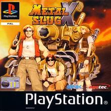 Capa do jogo Metal Slug X