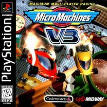 Capa do jogo Micro Machines V3
