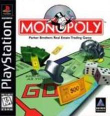 Box art for the game Monopoly (1998)