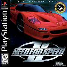 Box art for the game Need for Speed II
