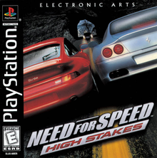 Box art for the game Need for Speed: High Stakes
