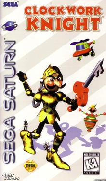 Box art for the game Clockwork Knight