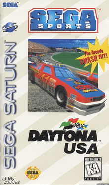Box art for the game Daytona USA