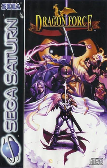 Box art for the game Dragon Force