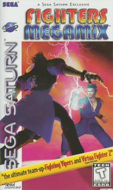 Box art for the game Fighters MegaMix