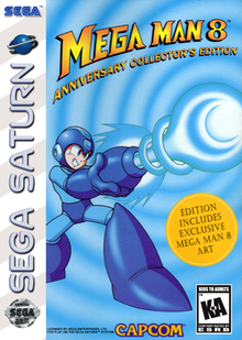 Box art for the game Mega Man 8