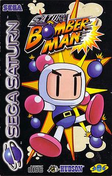 Box art for the game Saturn Bomberman