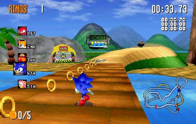 Sonic R Sega Saturn Alvanista