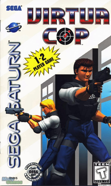 Box art for the game Virtua Cop