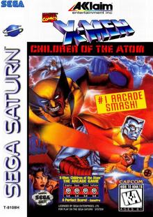 Box art for the game X-Men: Children of the Atom