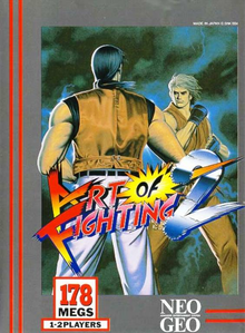 Box art for the game Art of Fighting 2