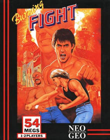Box art for the game Burning Fight