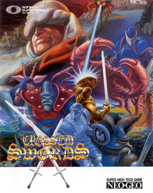 Box art for the game Crossed Swords