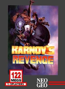 Box art for the game Karnov's Revenge