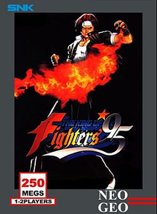 Capa do jogo The King of Fighters '95
