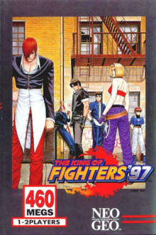 Box art for the game The King of Fighters '97