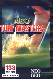 Box art for the game Neo Turf Masters