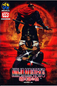 Box art for the game Ninja Masters