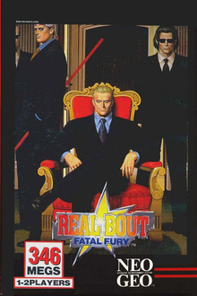 Box art for the game Real Bout Fatal Fury