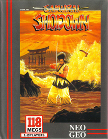Box art for the game Samurai Shodown