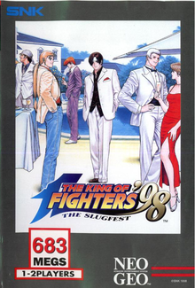 Box art for the game The King of Fighters '98