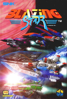 Box art for the game Blazing Star