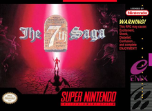 Box art for the game The 7th Saga