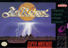 Box art for the game ActRaiser