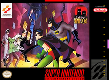 Box art for the game The Adventures of Batman & Robin