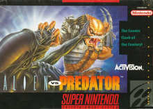 Box art for the game Alien vs. Predator