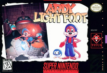 Box art for the game Ardy Lightfoot