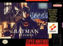 Box art for the game Batman Returns