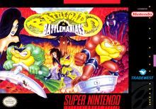 Capa do jogo Battletoads in Battlemaniacs
