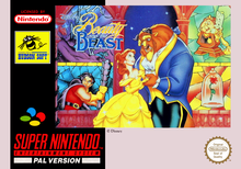 Box art for the game Beauty and the Beast