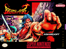 Box art for the game Breath of Fire