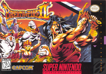 Box art for the game Breath of Fire II