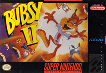 Box art for the game Bubsy II