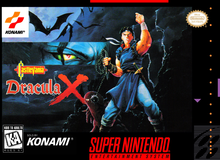Box art for the game Castlevania: Dracula X
