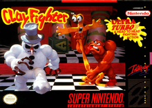 Box art for the game ClayFighter
