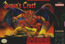 Box art for the game Demon's Crest