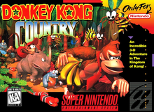 Box art for the game Donkey Kong Country