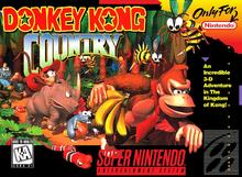 Capa do jogo Donkey Kong Country
