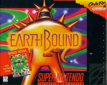 Box art for the game EarthBound