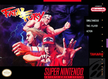 Box art for the game Fatal Fury