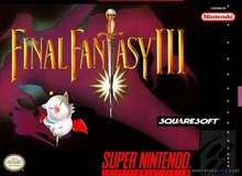 Box art for the game Final Fantasy III (US)