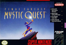 Box art for the game Final Fantasy: Mystic Quest
